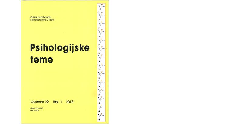 Psihologijske teme – 22/2013