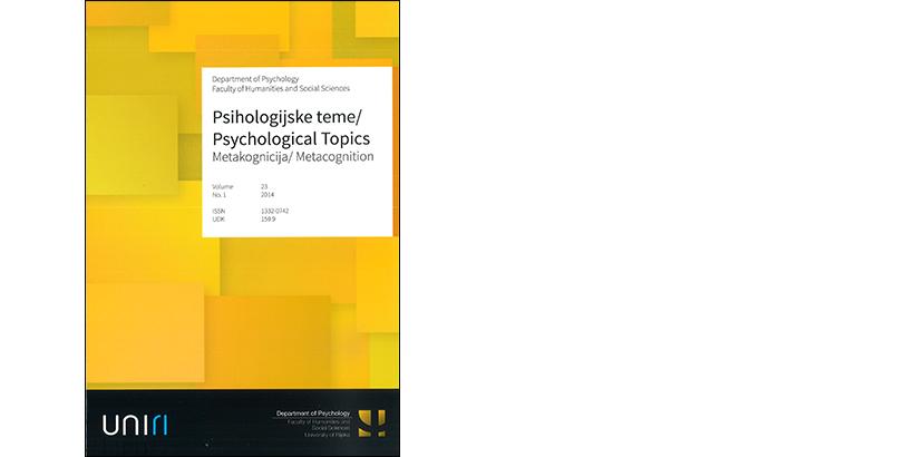 Psihologijske teme – 23/2014