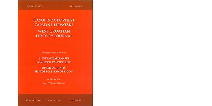 G. D'Alessio, M. Orlić </br> ČASOPIS ZA POVIJEST ZAPADNE HRVATSKE </br> <i>Sjevernojadranski povijesni panoptikum</i>
