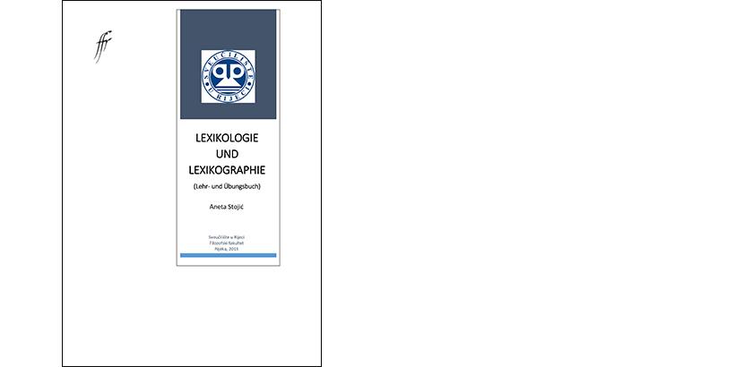 Aneta Stojić </br> LEXIKOLOGIE UND LEXIKOGRAPHIE</br><i>Lehr- und Übungsbuch</i>