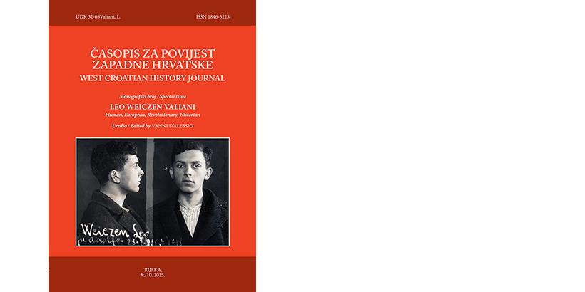 V. D'Alessio</br> ČASOPIS ZA POVIJEST ZAPADNE HRVATSKE </br> <i>Leo Weiczen Valiani</i>